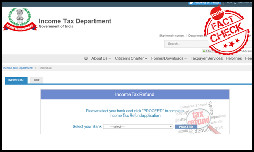 Received IT Refund Message On SMS? Beware Of Phishing, Says IT Dept