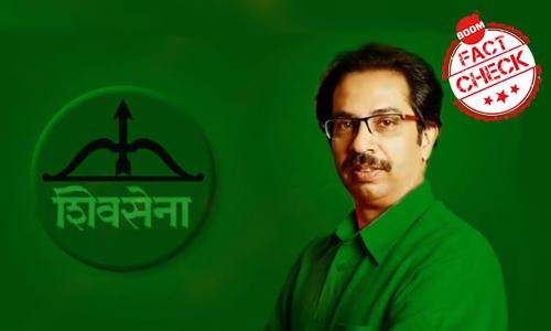 Shiv Senas New Secular Logo? Satire Pic Goes Viral
