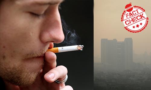 Toxic Delhi Air Equivalent To Smoking 40 Cigarettes Daily?