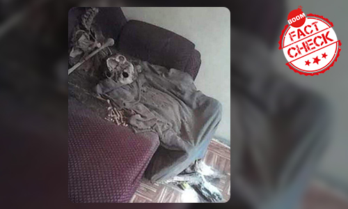Viral Pic Of A Skeleton Not Of Elderly Woman