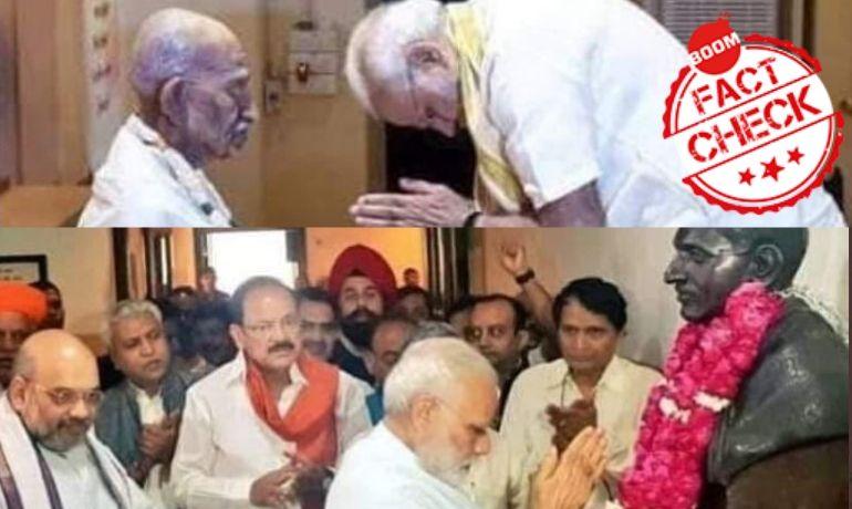 Image Of PM Paying Tribute To Deendayal Upadhyaya Revived As Nathuram Godse