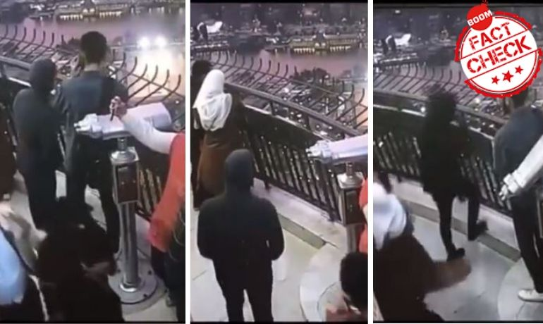 Video Of Suicide Caught On Camera In Egypt Passed Off As Dubai