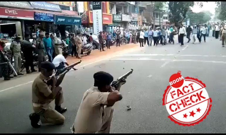 Jharkhand Polices Mock Drill Video Falsely Shared As Police Crackdown In Assam