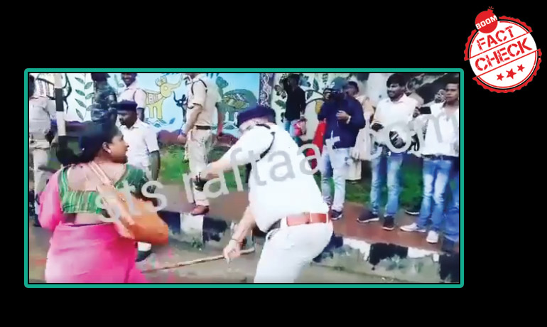 Video Of Lathicharge On Anganwadi Workers In Jharkhand Shared As Assam