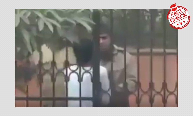 CAA Protests: 2014 Video Of Delhi Police Thrashing A Man Resurfaces