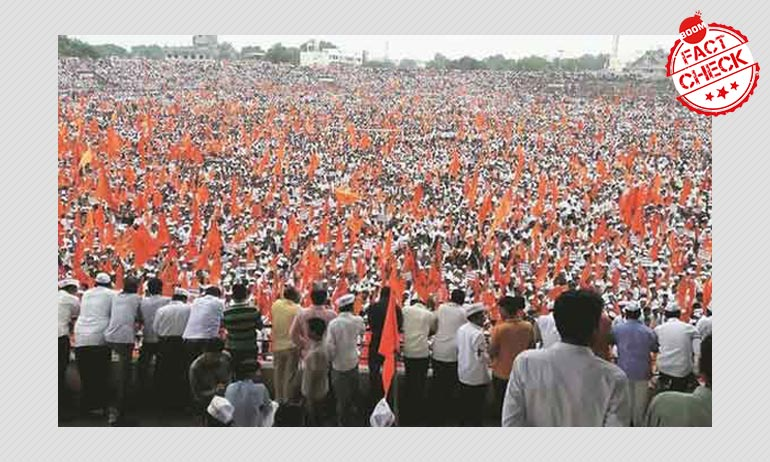 2016 Maratha Agitation Photo Resurfaces As Gathering In Support Of CAA