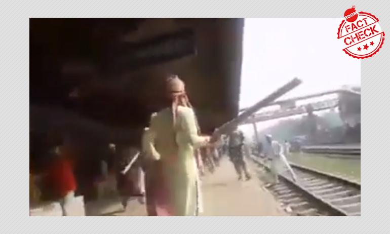 Vandalism Video From Bangladesh Falsely Shared As Kolkata