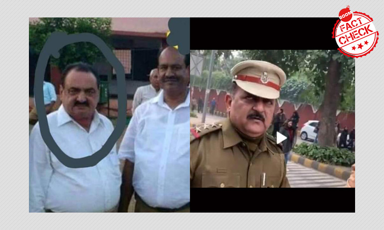 Delhi Police Officer As RSS Worker And Other News You Almost Believed