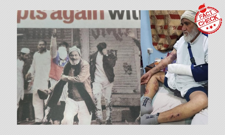 Maulana Beaten For Stone Pelting? No, They Are Not The Same Person