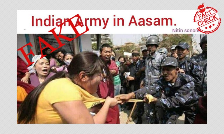 How A 12-Year Old Photo From Nepal Was Used To Target The Indian Army