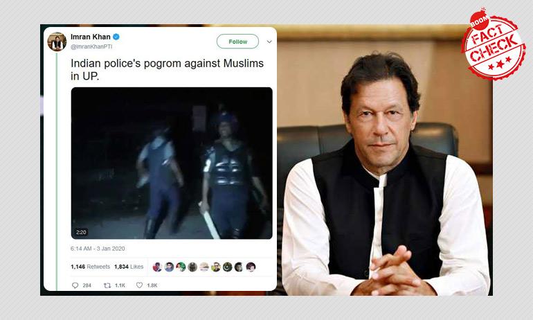 Imran Khan Falls For Fake News, Deletes Tweet Post Social Media Uproar
