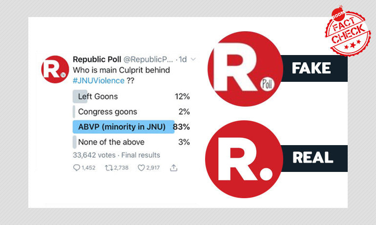 Not That Republic: Twitter Users Fight With Fake Account Running Controversial Polls