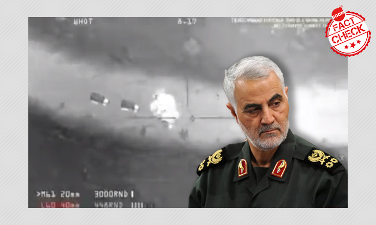 Video Game Clip Viral As Drone Attack On Iranian General Soleimani