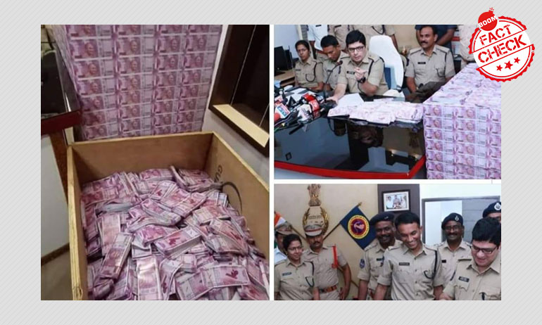 Was Fake Currency Seized From An RSS Supporter