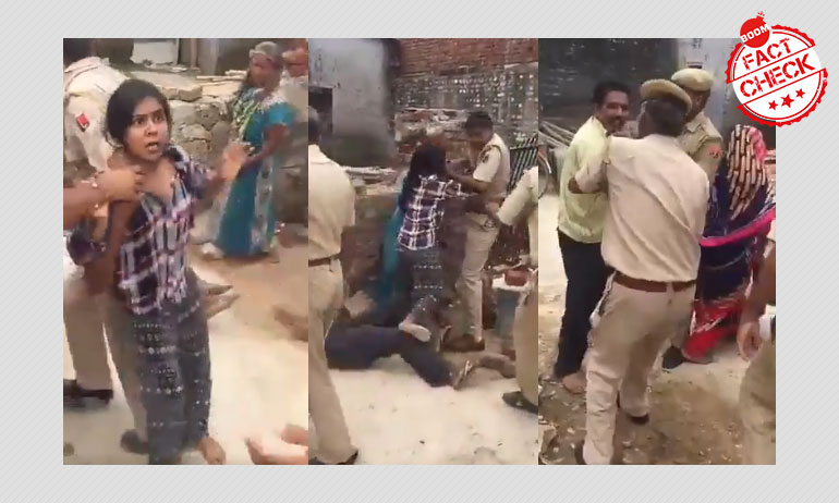 Video Of Jaipur Eviction Drive Shared As Police Crackdown Under NRC