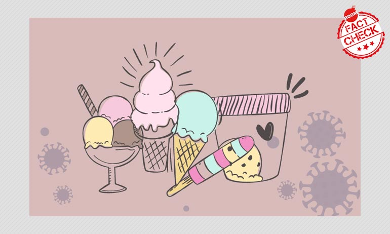 Can Avoiding Ice Creams And Cold Drinks For 90 Days Prevent Coronavirus?