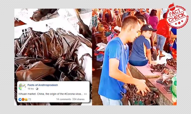 Coronavirus: Indonesian Market Video Viral As Wuhan, China