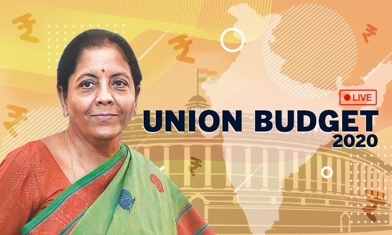 Union Budget 2020 Live Updates