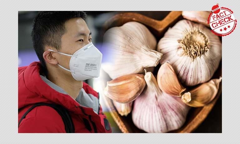 Boiled Garlic Water For Treating Coronavirus? Not Really
