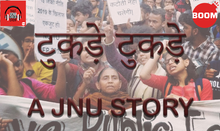 Tukde-Tukde: A JNU Story