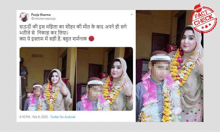 Photo Of Quran Recital Viral As Saudi Woman Marrying Minor Son