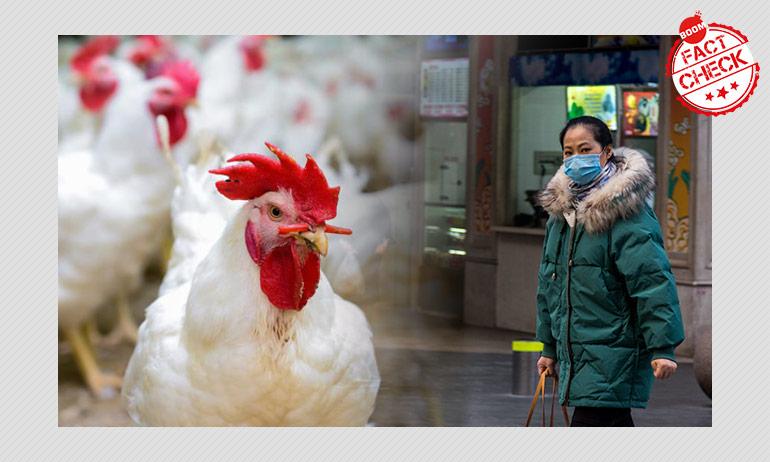 False: Chicken Infected With Coronavirus In Bangalore