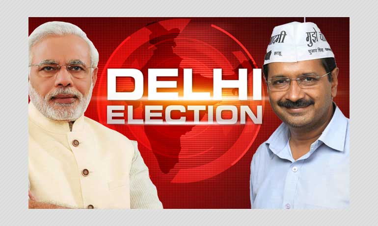 Delhi Elections: AAP Steals The Show, Poised To Win 62 Seats Out Of 70