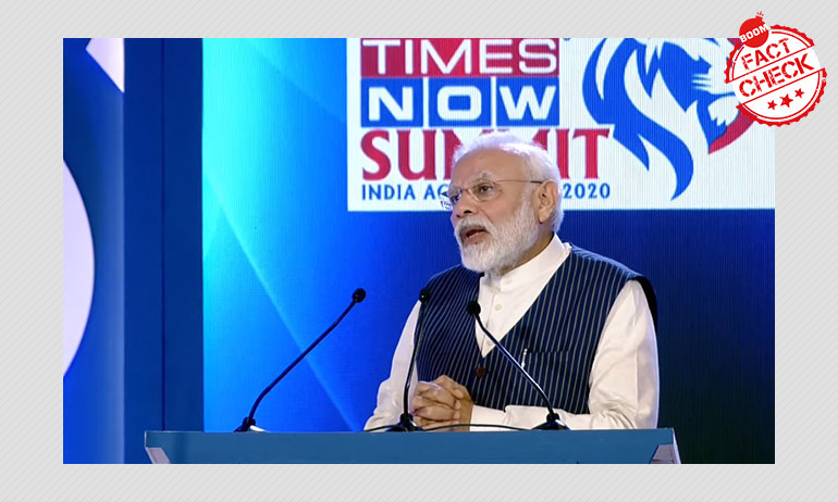 Only 2,200 Taxpayers With Income Above ₹1 Cr? PM Modi Misquoted
