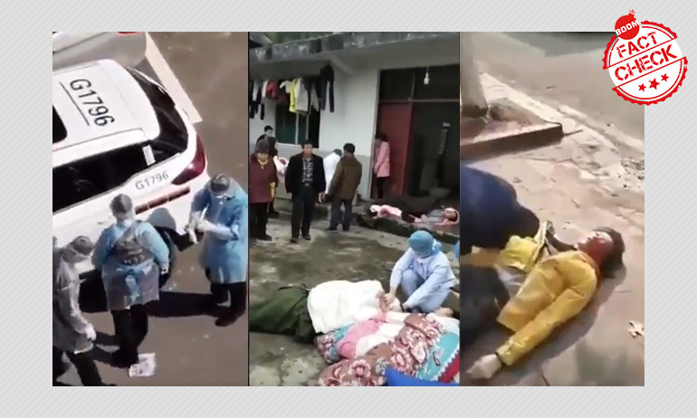 Video Shows Chinese Policemen Killing Coronavirus Patients? FactCheck