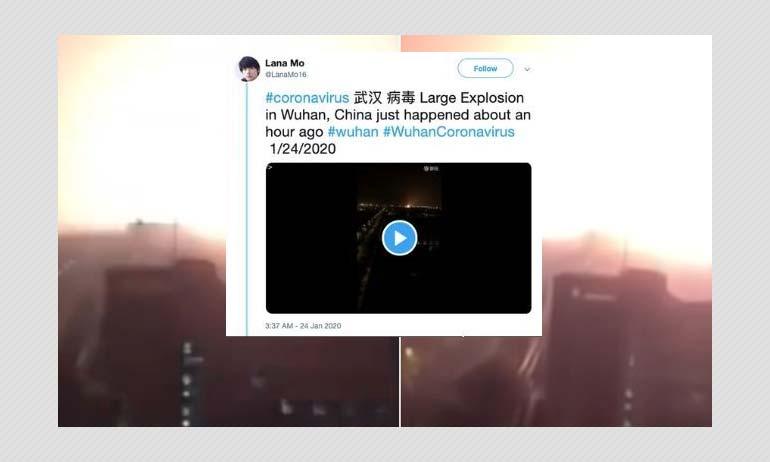 Coronavirus Outbreak: 2015 Explosion Video Viral With False Context