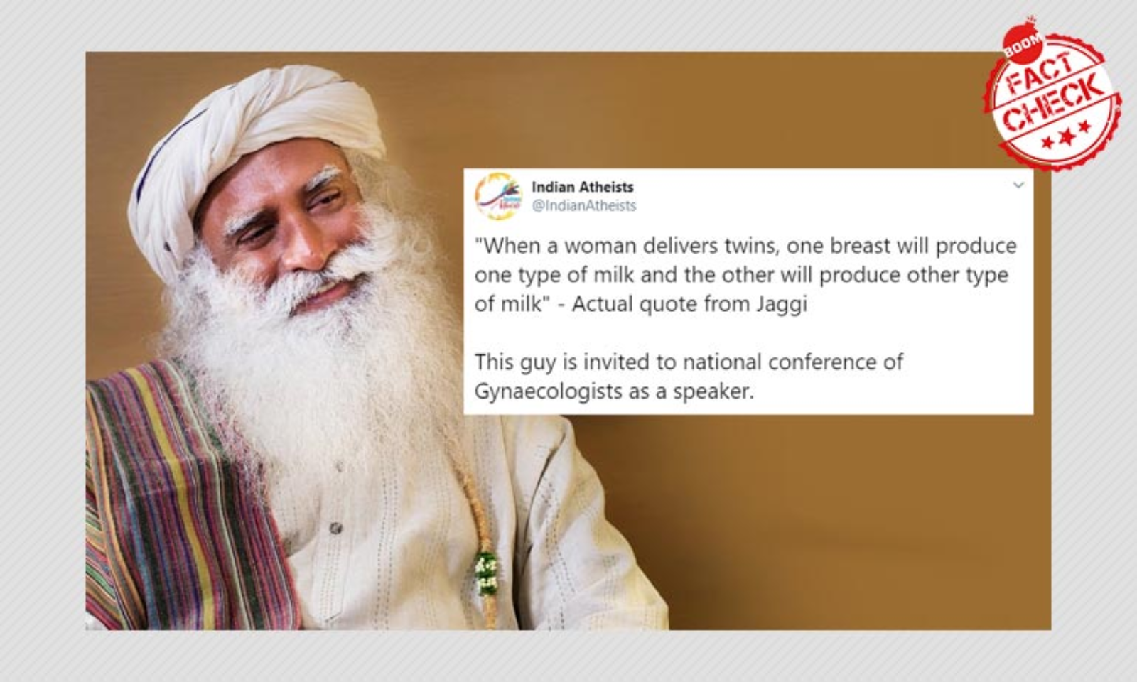 Sadhguru S Claims On Breast Milk Here S What Research Says