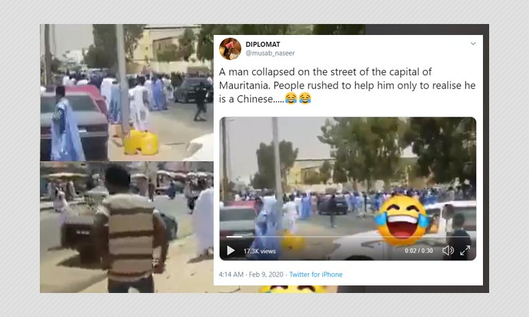 Coronavirus Outbreak: Does This Video Show People Running Away From A Chinese Man?