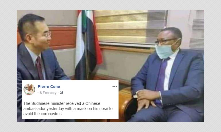 No, This Sudanese Minister Didn