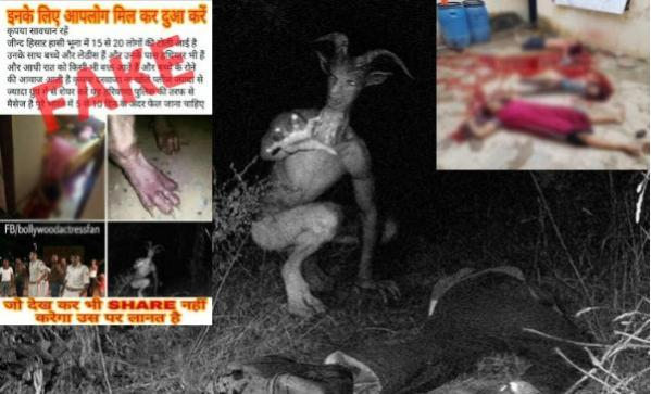 Violent Goatman Hoax Makes A Comeback, This Time In Haryana