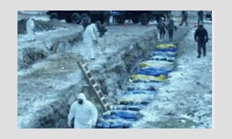 Contagion Film Scene Shared As Mass Burial Of Coronavirus Victims