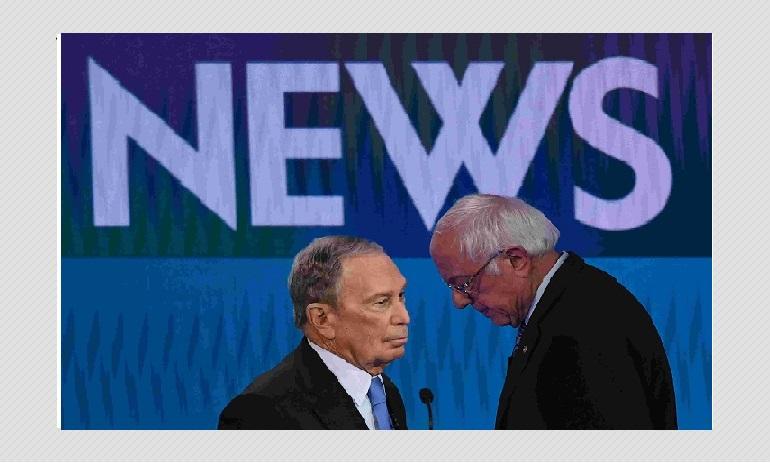 Democratic Candidate Mike Bloomberg Tweets Fake Bernie Sanders Quotes