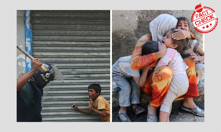 Old Images From Bangladesh And Syria Passed Off As Aftermath Of Delhi Riots