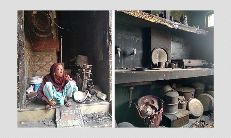 Houses Looted, Burnt: Delhis Shiv Vihar Is Now A Ghost Town