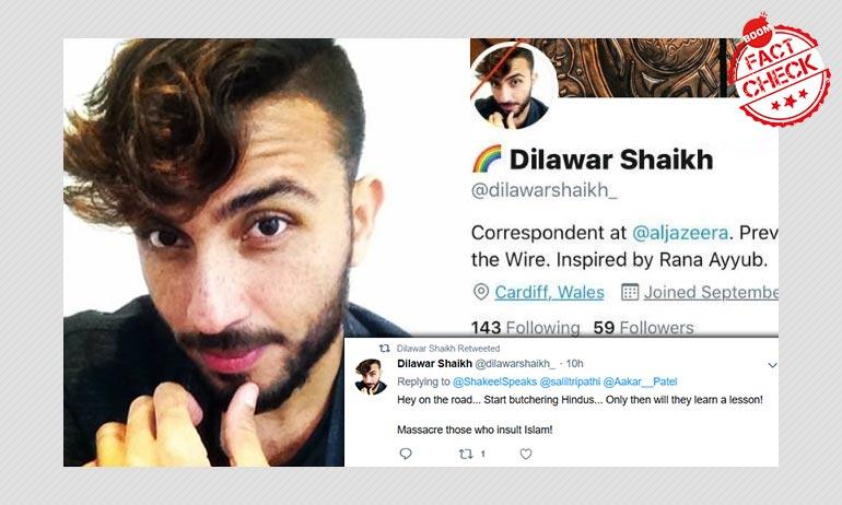 Fake Al Jazeera Correspondents Anti-Hindu Remark Angers Twitter Users