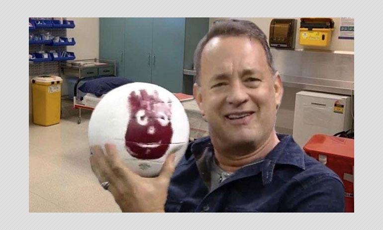 No, Tom Hanks Not Gifted A Volleyball In Coronavirus Quarantine