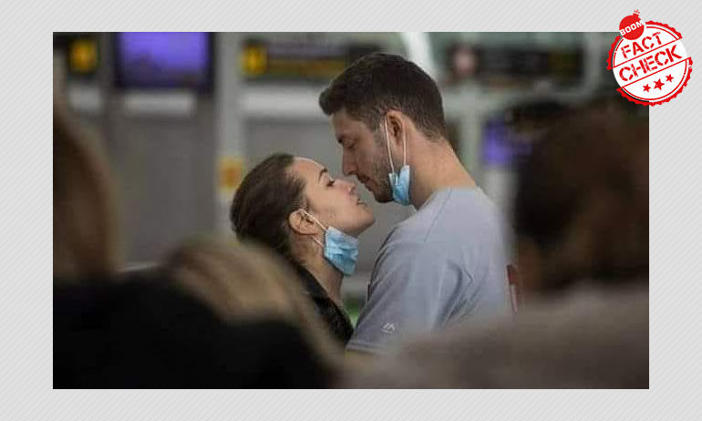 COVID-19: Couple Photographed At Spain Airport Shared As Deceased Italian Doctors