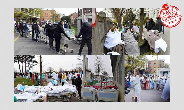 Croatia Earthquake Pics Peddled As Italy Overwhelmed With COVID-19 Patients