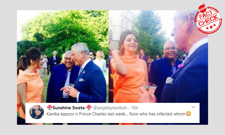 Coronavirus: Dated Photos Of Kanika Kapoor Meeting Prince Charles Surface With False Claim
