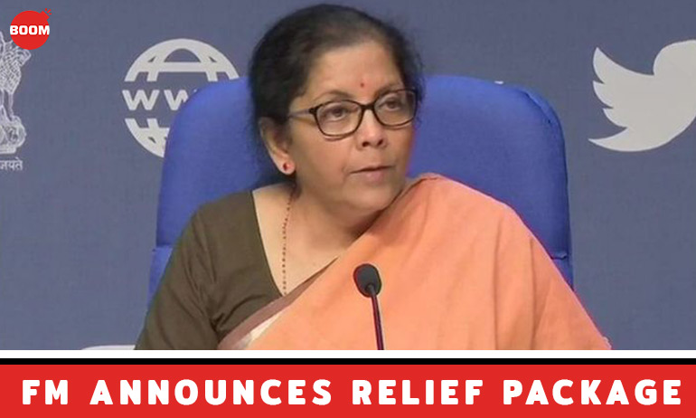 Cash Transfer, Free LPG, Grains: ₹1.7 Trillion COVID-19 Relief Package