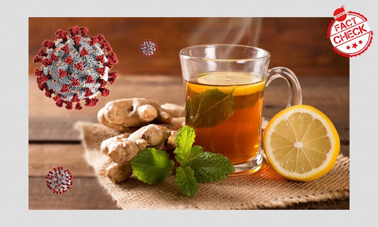 False: Different Types Of Tea Can Act As A Cure For COVID-19