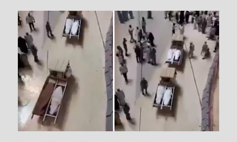 False: Video Shows COVID-19 Victim
