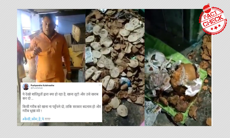 Viral Video From Leprosy Shelter In Meerut Peddled With Communal Twist