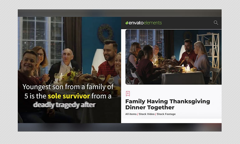 Facemask Video Ad Claims Stock Image Personnel As Virus Infected Family
