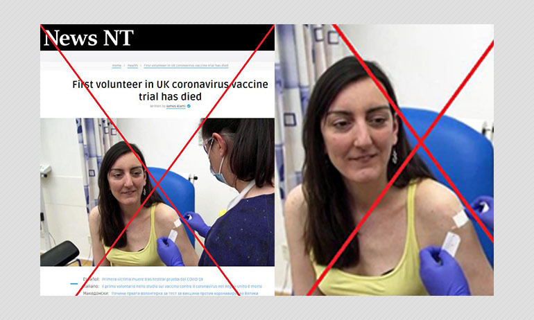 Did A COVID-19 Vaccine Volunteer In UK Die After Trial? A Fact Check