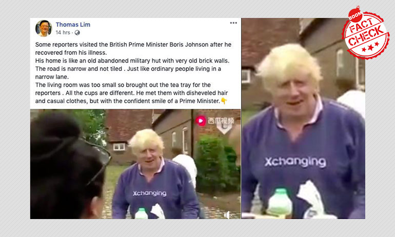 Old Video Of UK PM Boris Johnson Resurfaces With COVID-19 Spin